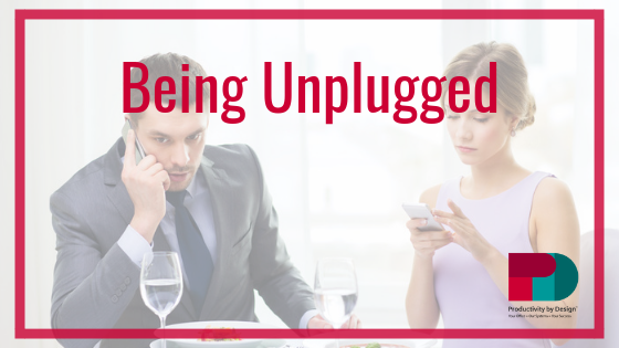 Being Unplugged