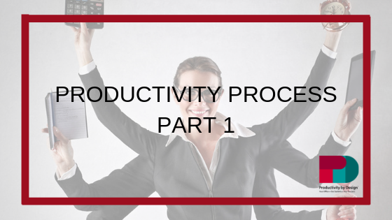 Productivity Process – Part 1